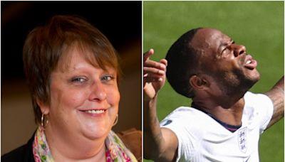 Kathy Burke thanks Raheem Sterling for scoring England winner 'in celebration' of her birthday