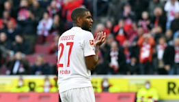 Modeste double earns Cologne derby draw with Leverkusen