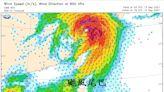 璨樹最強「颱風尾」從海上通過!鄭明典:台灣真的幸運