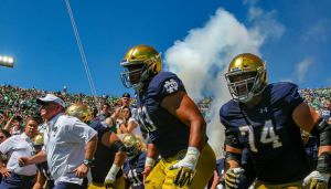Notre Dame football remains unbeaten, defeats Purdue with big second half