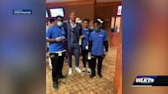 Fern Creek football players run into Tom Brady, other sports celebs at Kentucky Derby