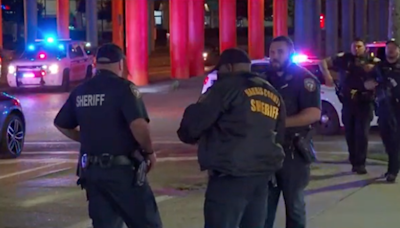 Texas deputy killed and two others wounded after being shot from behind outside bar