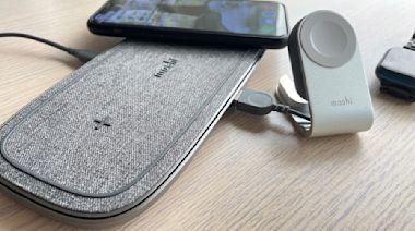 iPhone/Apple Watch/AirPods 多裝置充電需求一次滿足 三合一無線充電組合推薦:Moshi Sette Q / Flekto - Cool3c
