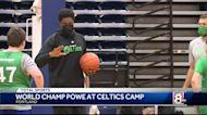 Maine Celtics summer camp has special guest