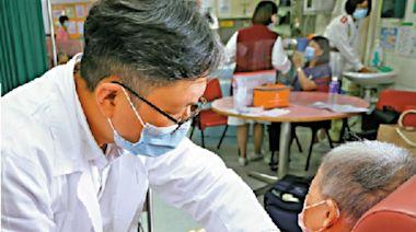 打針唔使驚/長者撐打疫苗:同流感針無分別