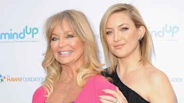 Kate Hudson shares throwback pic of mom Goldie Hawn for 75th birthday: 'Goddess'
