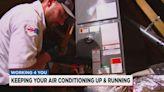 HVAC techs work around the clock on AC repairs in near-record heat