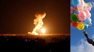 【以巴衝突】停火不足一個月再爆衝突 以色列空襲加沙 報復哈馬斯放燃燒氣球 | 立場報道 | 立場新聞