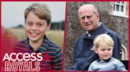Prince George's 8th Birthday Portrait Pays Subtle Tribute To Great-Grandfather Prince Philip