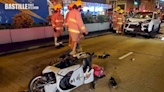 油麻地尼籍外賣電單車手疑衝燈 遭車撞飛十多米重傷   社會事
