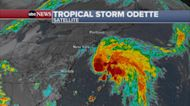 Tropical Storm Odette forms off Atlantic coast