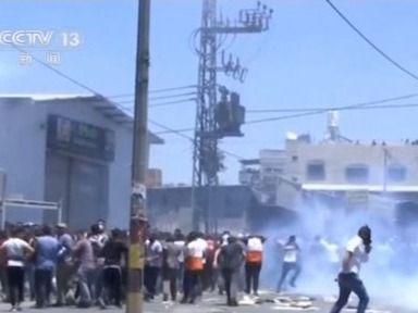 遊行、縱火、空襲……巴以正式停火後衝突仍頻繁發生-國際在線