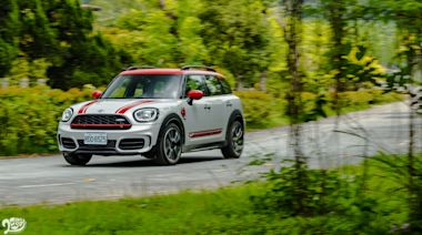 MINI JCW Countryman ALL4:妥協的藝術家