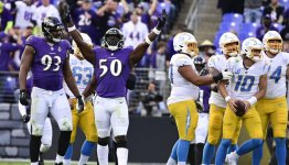 Twitter reacts to Chargers' 34-6 loss to Ravens