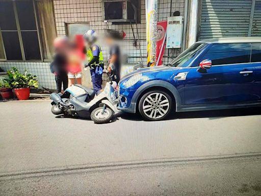 女騎士逆向摔車「碰瓷」?警方澄清:重心不穩跌倒擦撞