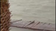 Hurricane Sally Brings Powerful Surf to Orange Beach, Alabama