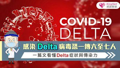 感染Delta病毒恐一傳六至七人 一篇文看懂Delta症狀與傳染力