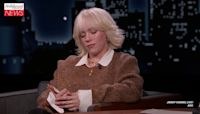 Billie Eilish Talks Creating 'No Time to Die' Theme and Crosses Items Off Her Bucket List on 'Jimmy Kimmel Live...