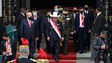 Leftist political novice sworn in as Peru's president