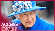 Queen Elizabeth Stuns In Royal Blue While Beaming With Children In Scotland
