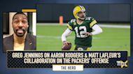 Greg Jennings on Aaron Rodgers & Matt LaFleur's collaboration on the Packers' offense   THE HERD