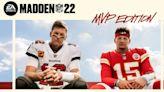 Tom Brady and Patrick Mahomes Share 'Madden NFL 22' Cover