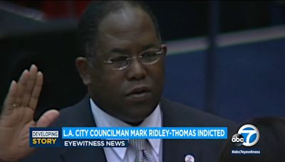 LA city leaders call on Ridley-Thomas to step down after indictment