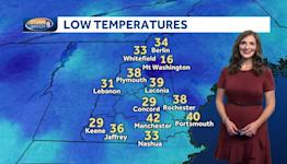 Video: Frosty morning Sunday