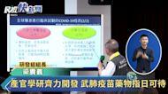 快新聞/武肺疫苗藥物指日可待 國衛院最快秋季人體試驗