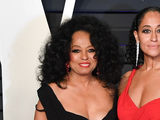 Tracee Ellis Ross Re-created One of Diana Ross's Most Iconic Photographs