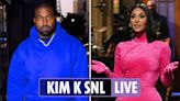 Kim K 'kiss' with Pete Davidson on SNL sends fans wild as Ye's reaction revealed