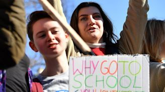 Climate strike: Thousands of UK schoolchildren walk out of classes to protest ecological crisis
