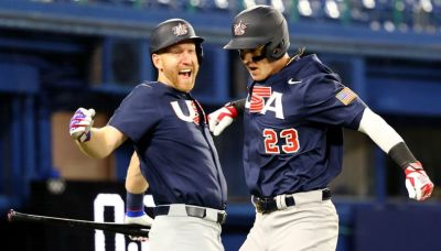 Olympics-Baseball-U.S. thrash Israel 8-1, Dominican Republic down Mexico