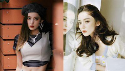 新疆女神洋裝「胸前鏤空」雪白雙球掉出!性感S曲線全看光