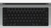 New MacBook Pro Keyboard Has All-Black Design, Full-Size Function Keys, and Touch ID Ring