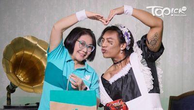 張文傑自爆常做女演員替身 跟梁祖堯扮女人司棋姐大讚 - 香港經濟日報 - TOPick - 娛樂