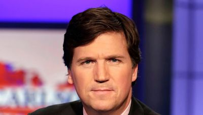 What's Tucker Carlson Mad About Now? Kamala & Doug's Masked Kiss