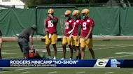 Aaron Rodgers absent from Packers minicamp
