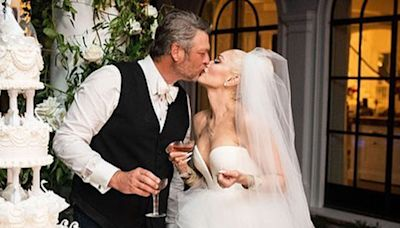 Blake Shelton Says He and Gwen Stefani Had 'a Hard Time' Getting Through Emotional Wedding Vows