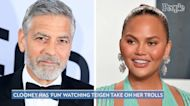 George Clooney Says It's 'So Much Fun' to Watch Chrissy Teigen Clap Back Her Internet Trolls