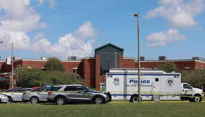 Two 17-year-olds — a boy and a girl — shot at Heritage High in Newport News; suspect in custody