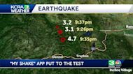 Truckee quake gives CA's early earthquake warning app first real test