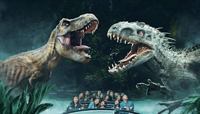 "Universal Studios Hollywood Is Back, With Big Dinosaurs; ""We're The One In California Now Open!"""