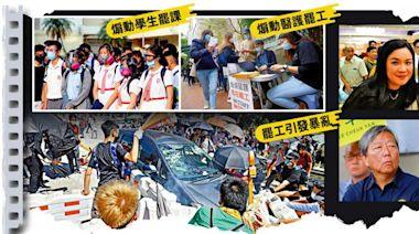 調查報道/職工盟勾外力 屢搞罷工爛騷亂港