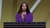 Vanessa Bryant Accepts Hall of Fame Honor on Behalf of Kobe Bryant: 'I Wish My Husband Was Here'