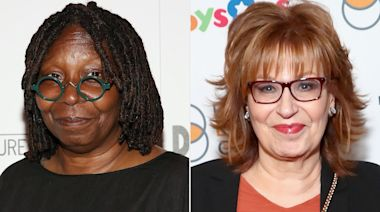 View Hosts Whoopi Goldberg, Joy Behar Say They 'Feel Weird' About Trump's Positive COVID-19 Test