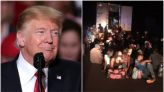 ... Than 100 Haitian Migrants Trapped In Shipping Container, Trump 'Fearmongered' About Biden Letting 'Everybody' In