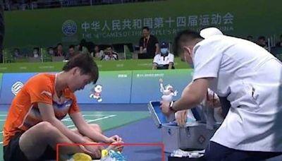 害自家奧運金牌比賽濺血 中國球鞋廠商出面回應