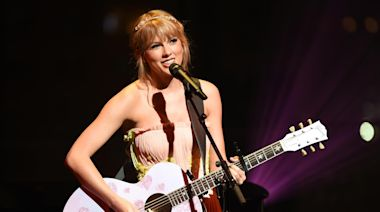 Taylor Swift releases first re-recording sample of 'Love Story'