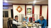 臺北英雄館軍友餐廳推桌餐防護隔板 顧客安心用餐